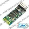 โมดูลสื่อสารข้อมูลอนุกรมผ่านสัญญาณ Bluetooth (HC-05) พร้อมฐานรองรับไฟ 3.3,5 V